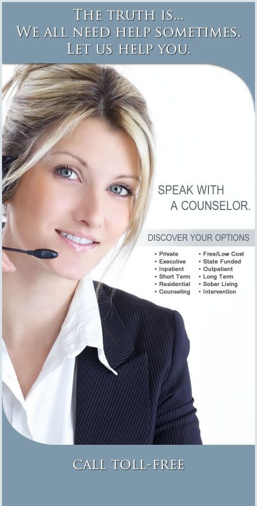 Get Treatment Options - Speak with a Counselor